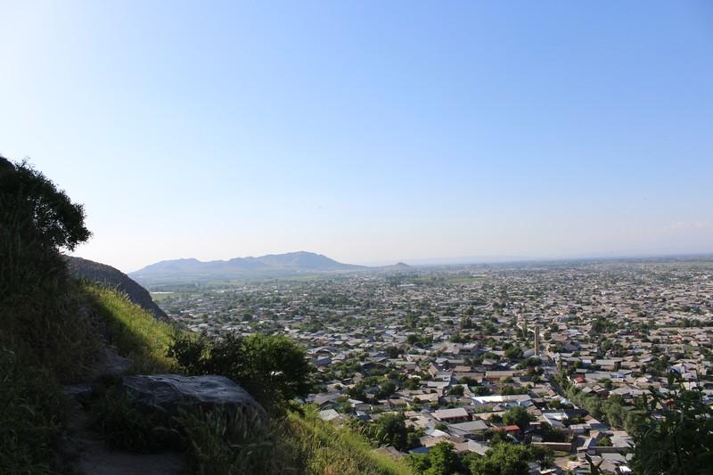 Blick vom Berg Suleiman-Too